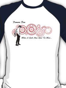 Drwho galigrafics T-Shirt
