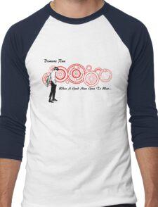 Drwho galigrafics Men's Baseball ¾ T-Shirt