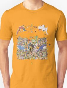 All pokemon T-Shirt