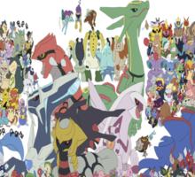 All pokemon Sticker
