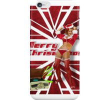 Dancin' Sexy Santa Girl iPhone Case/Skin