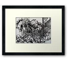 'Un-Weeded Garden', 2012 Framed Print