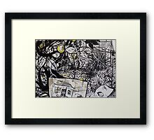 Under the Lemon Tree, 2012 Framed Print