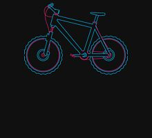 Mountain bike graphic Women's Fitted V-Neck T-Shirt