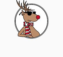 Christmas deer with shades Unisex T-Shirt