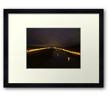 E45 river in Gothenburg Framed Print