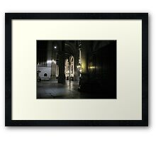 Inside the 'St. Janskerk' Gouda Framed Print