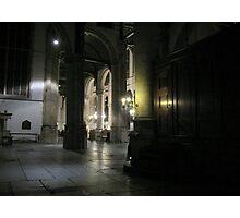 Inside the 'St. Janskerk' Gouda Photographic Print