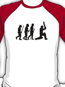 evolution of cricket T-Shirt