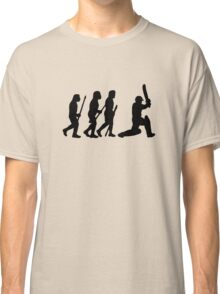 evolution of cricket Classic T-Shirt
