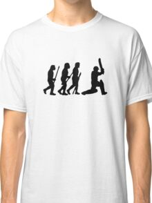 evolution of cricket Classic T-Shirt