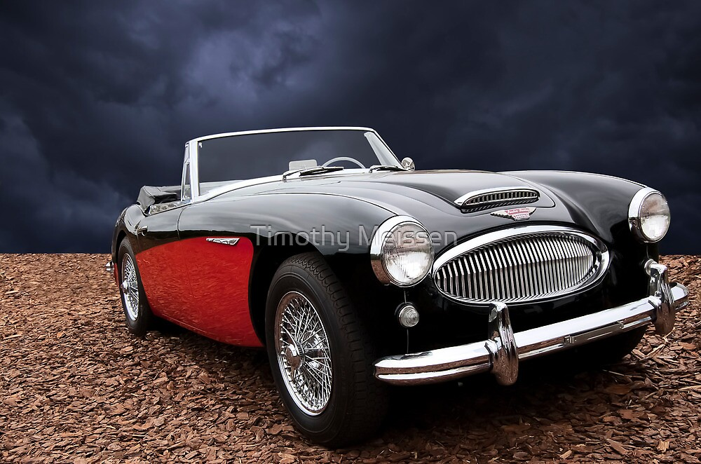 1963 Austin-Healey 3000 MKII Convertible by Timothy Meissen