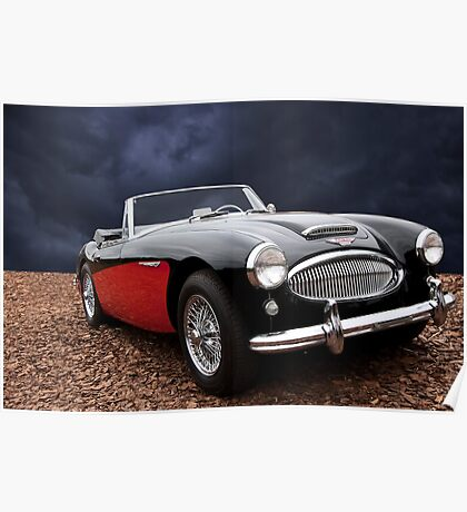 1963 Austin-Healey 3000 MKII Convertible Poster