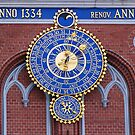 Astronomical clock on the House of Blackheads in Riga by Irina777