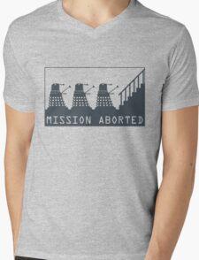 Mission Aborted Mens V-Neck T-Shirt