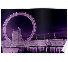 London Eye Art Poster