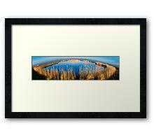Eempolder panorama Framed Print