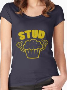Stud Muffin Women's Fitted Scoop T-Shirt