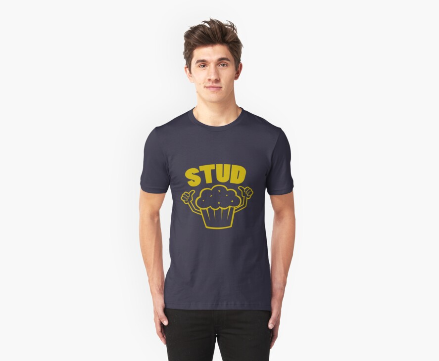 Stud Muffin by DetourShirts