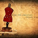 Keep the Important Things Close by Lea  Weikert