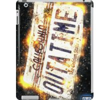 Back To The Future Licence Plate iPad Case/Skin