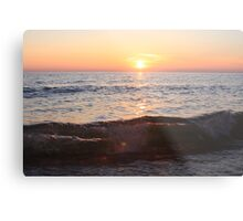 Sunset on the Great Lakes Metal Print