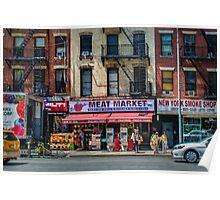 Manhattan Meat Market Poster