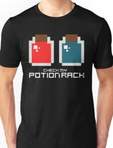Check My Potion Rack Unisex T-Shirt