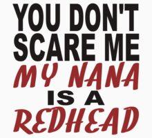 My Nana Is A Redhead Kids Tee