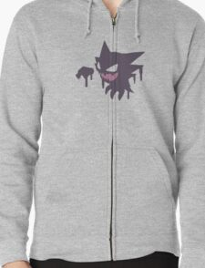 Pokemon - Haunter Paint Tee Zipped Hoodie