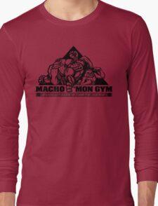 Macho'mon Gym Long Sleeve T-Shirt