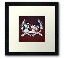 Always Five, Acting As One  Framed Print