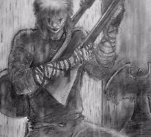the crow (pencil) by blotter747
