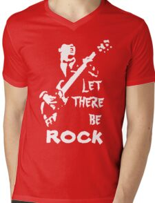 ac dc t-shirt Mens V-Neck T-Shirt