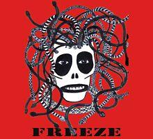 Black 'Freeze' Medusa head Unisex T-Shirt