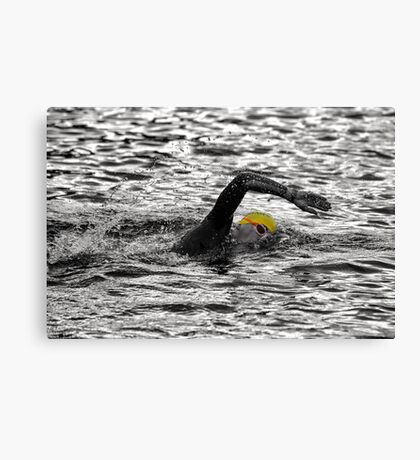 Triathlon Swimmer Canvas Print