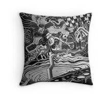 Intricate Emotions Throw Pillow