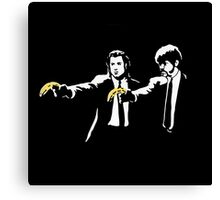 PULP FICTION BANANA. Canvas Print