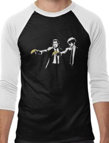PULP FICTION BANANA. Men's Baseball ¾ T-Shirt
