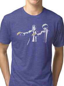 PULP FICTION BANANA. Tri-blend T-Shirt