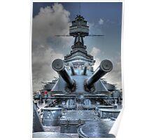 BB-35 (Battleship Texas) Poster