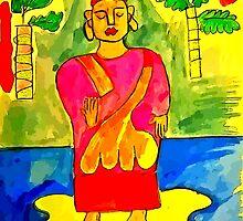 Buddha by Kater
