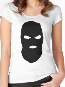 BALACLAVA GUY Women's Fitted Scoop T-Shirt