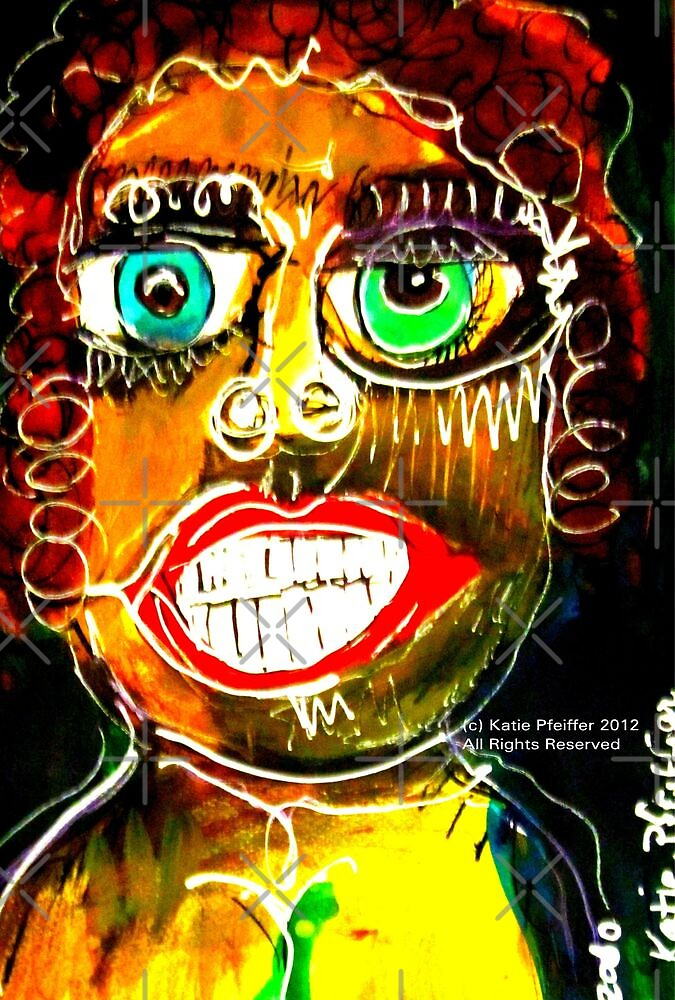 Portrait of a Narcissist  Woman by Kater