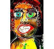 Portrait of a Narcissist  Woman Photographic Print