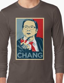 Chang We Can Believe In (Community) Long Sleeve T-Shirt