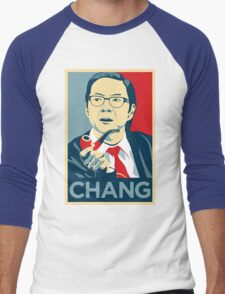 Chang We Can Believe In (Community) Men's Baseball ¾ T-Shirt