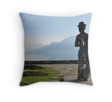 Charlie chaplin Throw Pillow