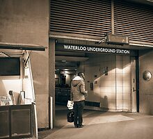 waterloo station by Adam Glen