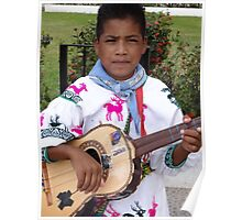 The Son - Guitar And Vocal - El Hijo - Guitarrista Y Cantante Poster